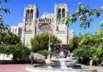 Nob Hill attractions including Grace Cathedral