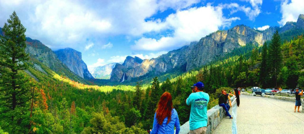 views from tunnel view overlook